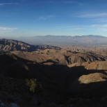 And finally, the view from the highest point of Joshua Tree National Park
